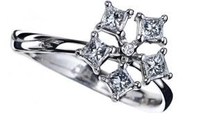 DeBeers Corsage Ring