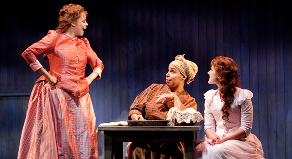 Terry Burrell, Delores King Williams, Stephanie Waters. Photo by Scott Suchman.