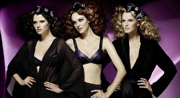 Black and midnight purple dramatic collection