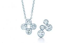 Tiffany Pendant and Earrings