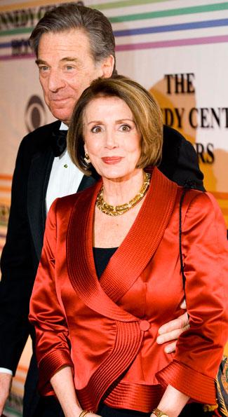 Speaker Nancy Pelosi and Paul Pelosi (Photo by Joseph Allen)