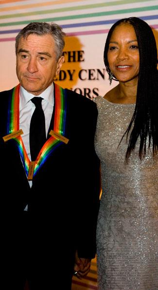 Honoree Robert De Niro and his wife Grace Hightower (photo by Joseph Allen)