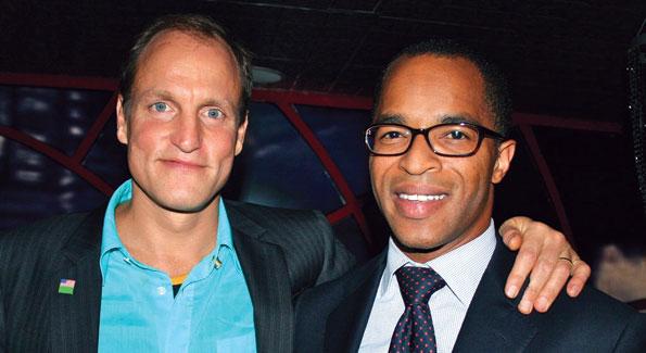 Woody Harrelson and Jonathan Capehert