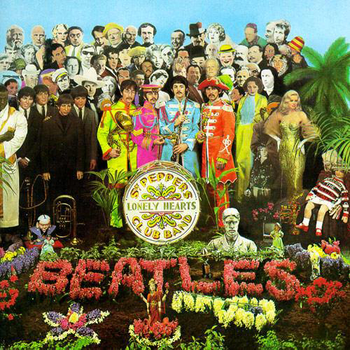 Sgt. Pepper Lonely Heart Club Band album cover