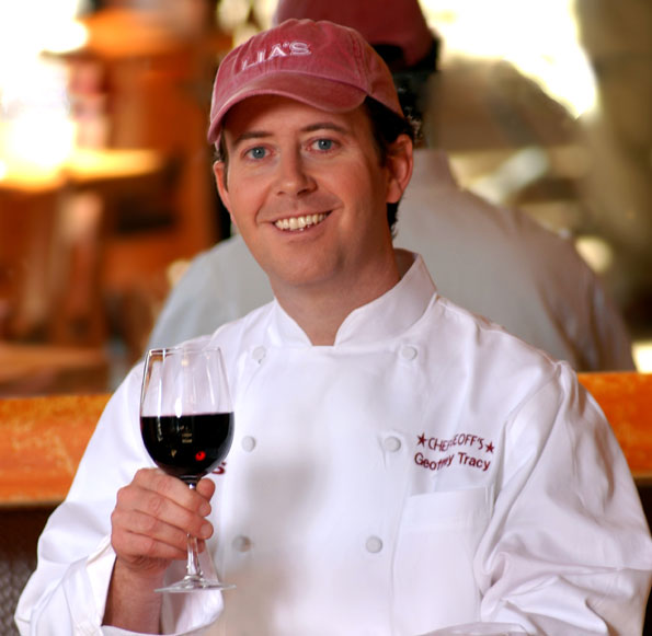 Chef Geoff founder Geoff Tracy