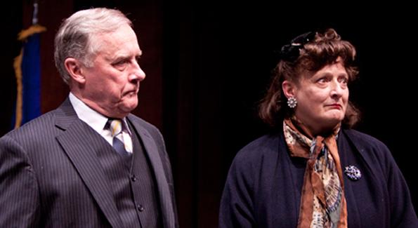 Michael Goodwin and Nancy Robinette. Photo by Scott Suchman.