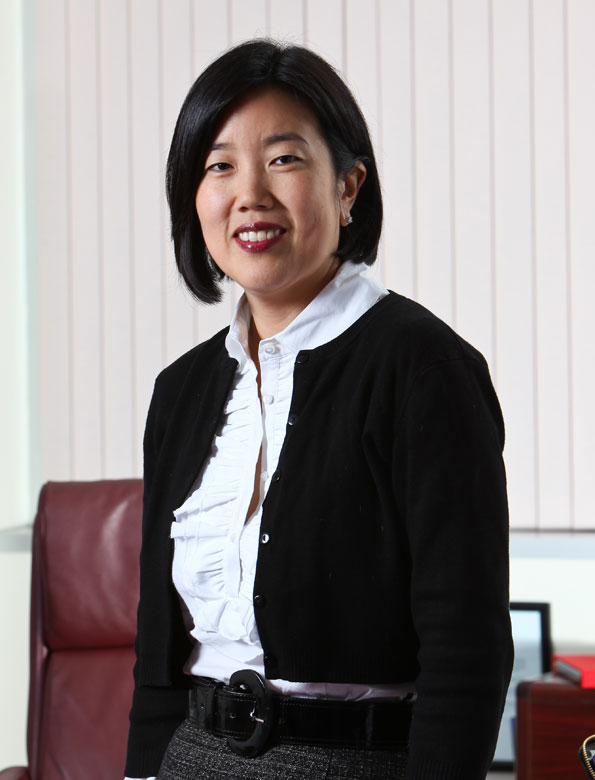 Chancellor Michelle Rhee (Photo by Tony Powell)