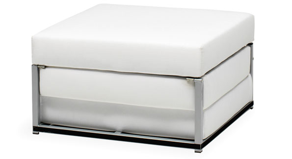 Xtra foot stool with sleeping element ($499); Bo Concept, 3342 M St. NW, 202-3333-5656, www.boconcept.us