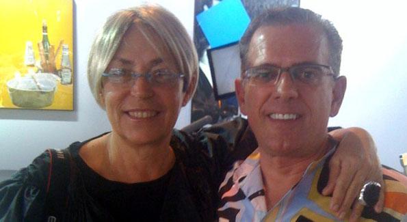 Mera Rubell and Fred Ognibene