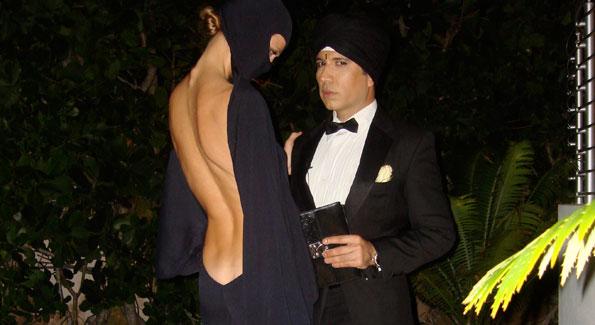 Miami designer Lei Marco and model