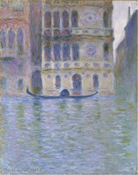 Claude Monet, The Palazzo Dario, 1908. Oil on canvas. National Museum of Wales; Miss Margaret S. Davies Bequest, 1963 (nmwa 2481). Courtesy American Federation of Arts.