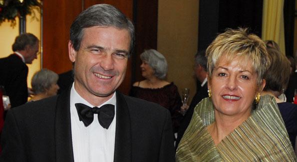 Hungarian Amb. Béla Szombati and Suzanna Szombati