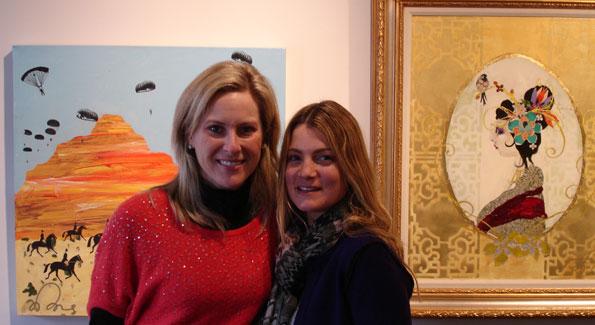 Erin Mackay and Jill Lubar. Photo by Julie LaPorte.