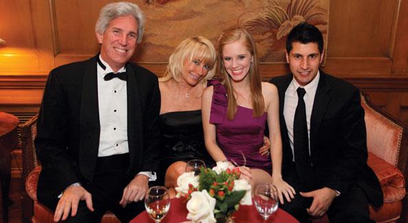 Brian Addison, Benita Jenkins, Ashton Kunkle, and Zmarak Khan. Photo by Samantha Strauss