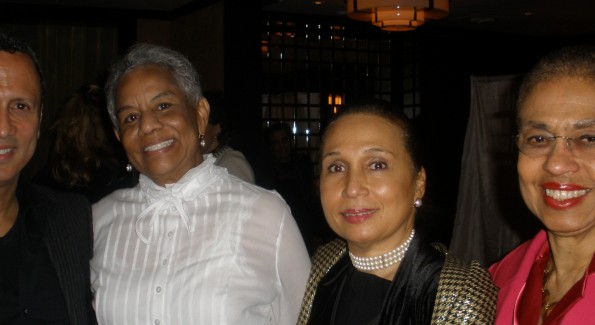 Attorney Tim Francis, Ellington Founder Peggy Cooper Cafritz, Former Secretary Alexis Herman, DC Delegate Eleanor Holmes Norton