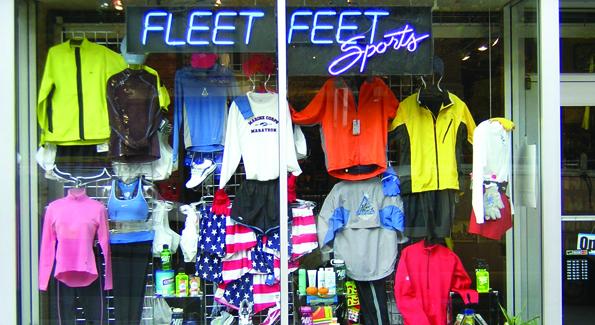 Fleet Feet in Adams Morgan.