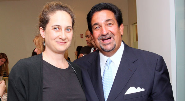 Grace Guggenheim and Ted Leonsis at the 2008 SilverDocs Film Festival Host Committee Dinner