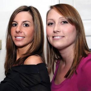 Heather Guay and Tara De Nicolas