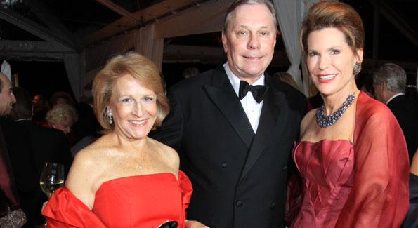 Cynthia Boardman, John Mashek, and Nancy Brinker