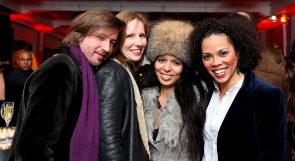 Christopher Reiter, Juleanna Glover, Christina Sevilla and Amy Holmes. Photo by Tony Powell
