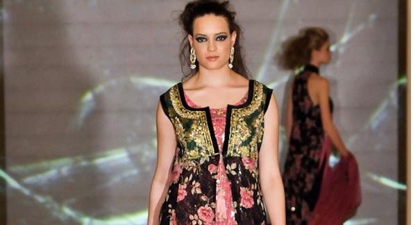 Fashion by Saman Zar.