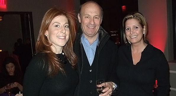 Jayne Sandman, Washington Nationals President Stan Kasten and Victoria Michael at the Becky's Fund Pre-Valentine's Party.