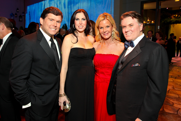 Bret and Amy Baier and Susanna and Jack Quinn.