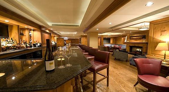 The Hanzell wine dinner was hosted in one of the private dining rooms of DC's historic Jockey Club.