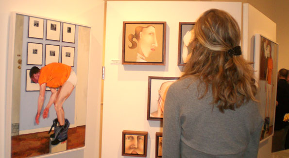 Persona Grata exhibit at gallery plan b. Photo by Monica Raymunt.