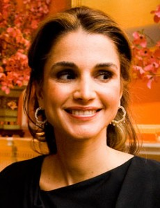 Queen Rania. (Photo by Joseph Allen)