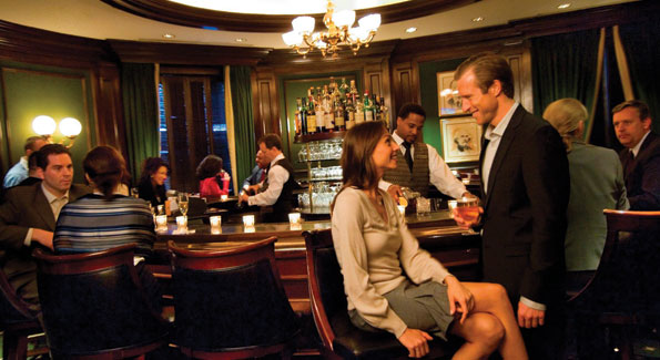 The Round Robin Bar at the Williard Hotel