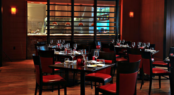 The Westend Bistro offers semi-private dining. (1190 22nd Street Northwest Washington, DC 20037-1219 (202) 974-4900)