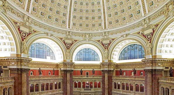 The Jefferson Room at the Library of Congress