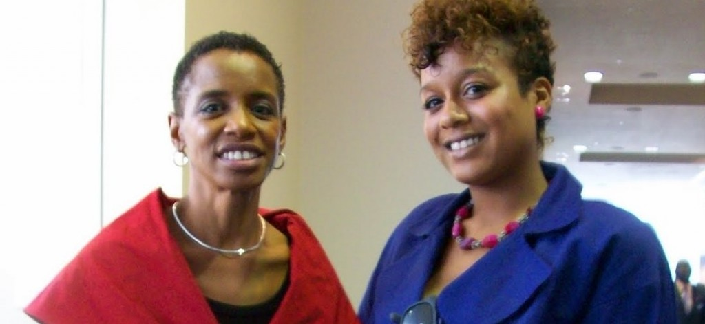 Congresswoman Donna Edwards & Lauren Von Der Pool