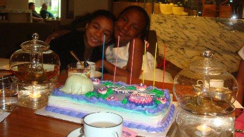 Exotic Teas, Princess Birthday Cake & Lifelong Friendship