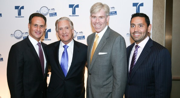 José Diaz-Balart, Don Browne, David Gregory, Ramon Escobar