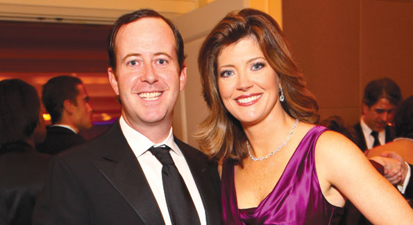 "Norah O'Donnell and husband Geoff Tracy attend the 2nd Annual ""Make a Difference"" Gala"