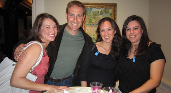 Connie Winterstein, Matthew Krause, Michele Wlaters and Arzinda Jalil. (Photo by Sarah Khan)