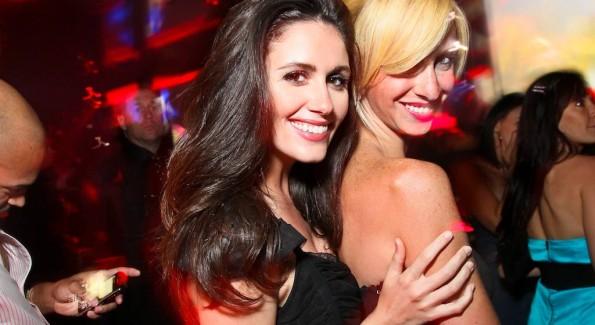 Stephanie Ball, Jaclyn Gower at MINT Nightclub. Photo by Tony Powell