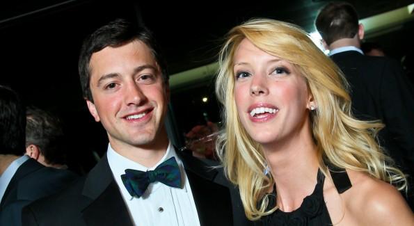 Simon Joseph and Sara Barton. (Photo by Tony Powell)