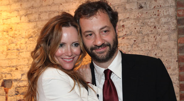 Leslie Mann, Judd Apatow. IMPACT Film + Arts Fund WHCD First Amendment Party. April 30th, 2010. Photos by Samantha Strauss.