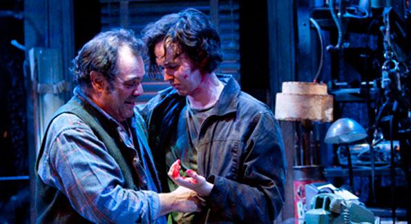 Edward Gero and Jimmy Davis. Photo by Scott Suchman.