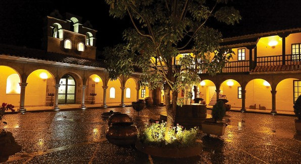 The hyper luxurious Orient Express Monasterio Hotel in Peru is the only property in the country to offer  oxygen enrichment in rooms to make stays more comfortable and counteract altitude sickness