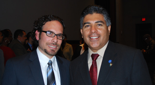 Michael De La Rocha and Tony Cárdenas. Photo by Roshan Farazad