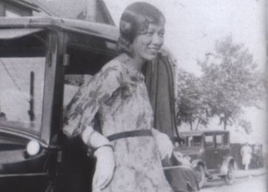 The young and ever stylish Dorothy Irene Height.