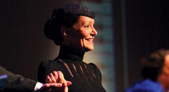 Former ballerina and Arena Stage choreographer Barbara Wilson. (Photos by Tony Powell)