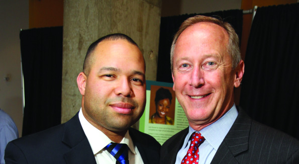 JB Blackshire and Mike Shupter