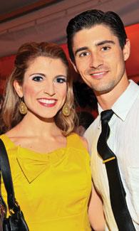 Janine DiVita and Sean Turi. (Phot by Tony Powell)