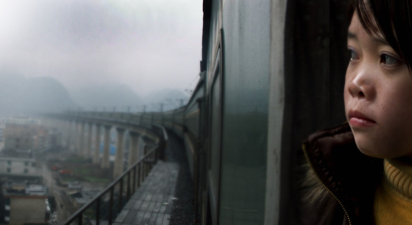 """Film still from """"Last Train Home."""" Photo provided by Silvedocs."""