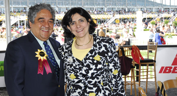 Peruvian ambassador to the United States Luis Valdivieso and his wife Cecilia (photo by Kyle Samperton)